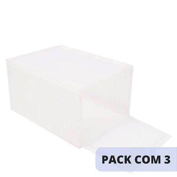 SNEAKERBOX - Caixa Plástica para Armazenamento (PACK COM 3) -NOVO-