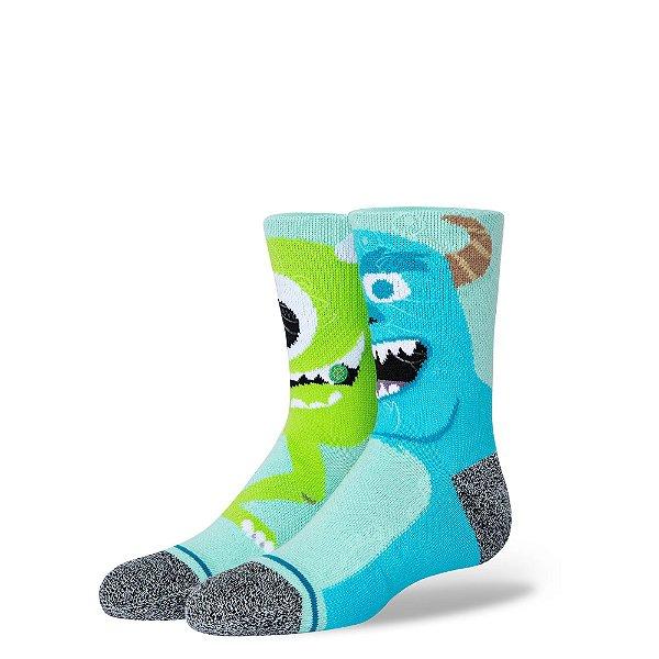 "STANCE - Meia Pixar Monstropolis Kids ""Multicolor"" -NOVO-"