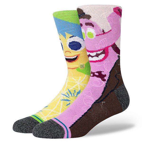 """STANCE - Meia Pixar Riley Andersen """"Multicolor"""" -NOVO-"""