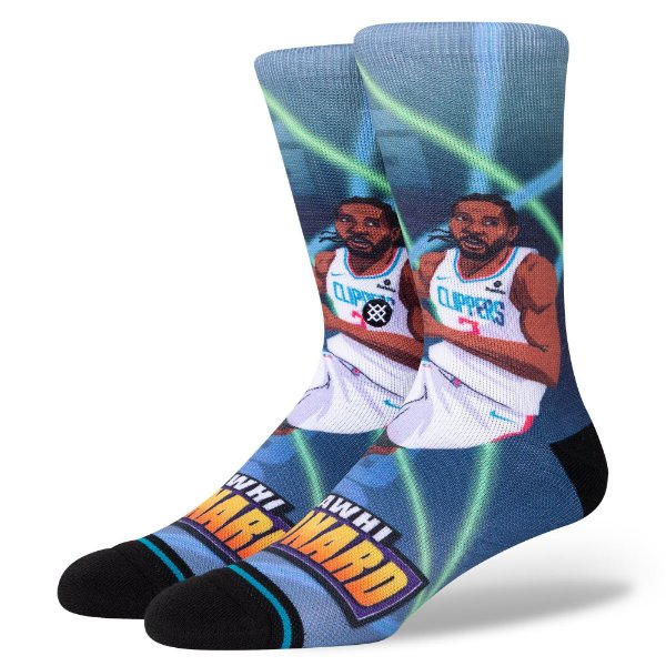 "STANCE - Meia NBA Leonard Fast Break ""Multicolor"" -NOVO-"