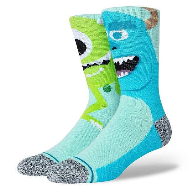 "STANCE - Meia Pixar Monstropolis ""Multicolor"" -NOVO-"