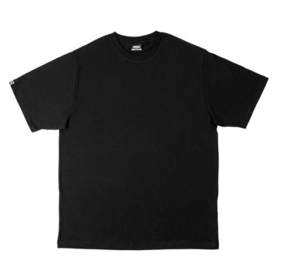 "HIGH - Camiseta Basic ""Preto"" (Pack c/3) -NOVO-"