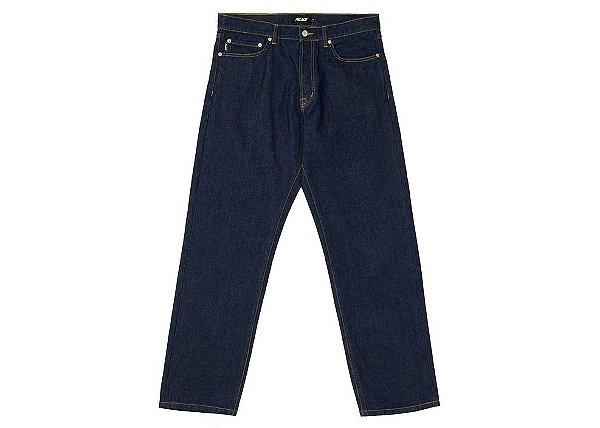 "PALACE - Calça Jeans Single Rinse ""Indigo"" -NOVO-"