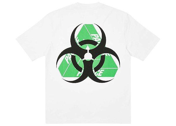 """PALACE - Camiseta Bio Hazard """"Branco"""" -NOVO-"""