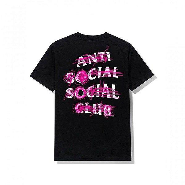"ANTI SOCIAL SOCIAL CLUB - Camiseta Never Mind ""Preto"" -NOVO-"