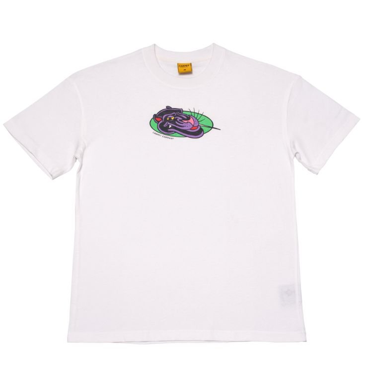 "CARPET COMPANY - Camiseta Panther ""Branco"" -NOVO-"