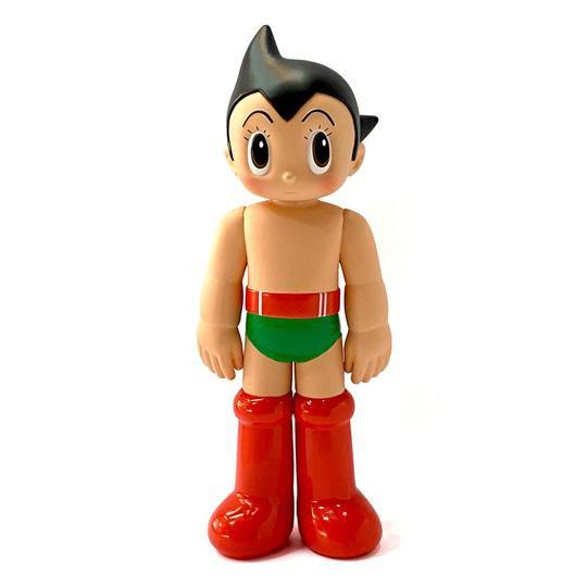!HUNG HING TOYS - Boneco Astro Boy Vintage Opened Eye -NOVO-