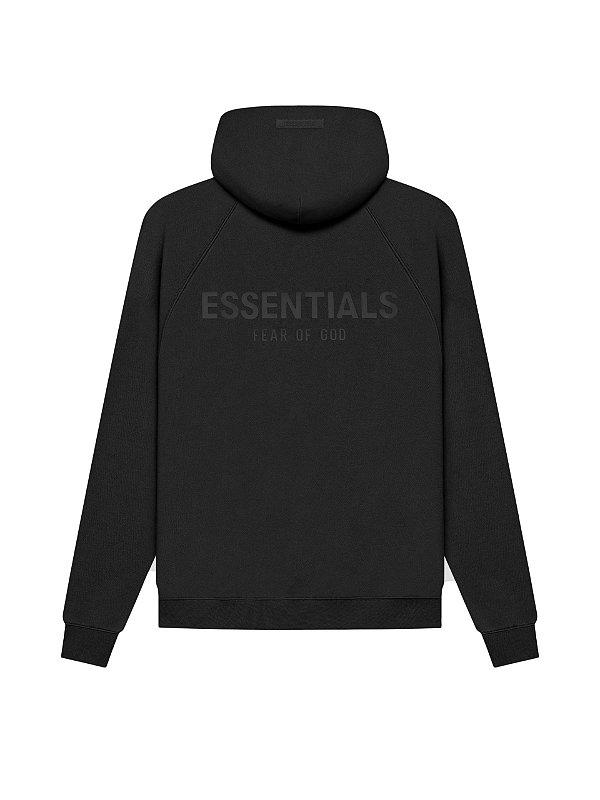 """FOG - Moletom Essentials Pullover Hoodie SS21 """"Preto"""" -NOVO-"""