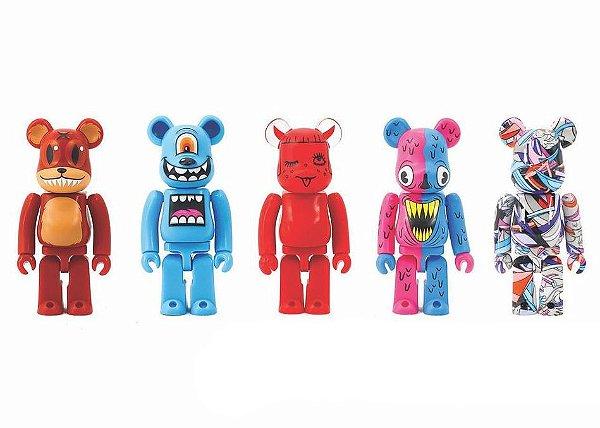 MEDICOM TOY - Boneco Bearbrick Artist Set DCON Series 2 -NOVO-