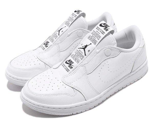 "NIKE - Air Jordan 1 Retro Low Slip ""White"" -NOVO-"