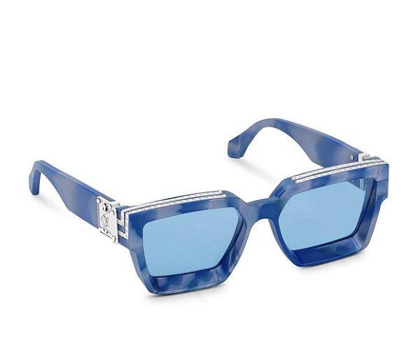 "LOUIS VUITTON - Óculos 1.1 Millionaires ""Tie Dye/Blue"" -NOVO-"
