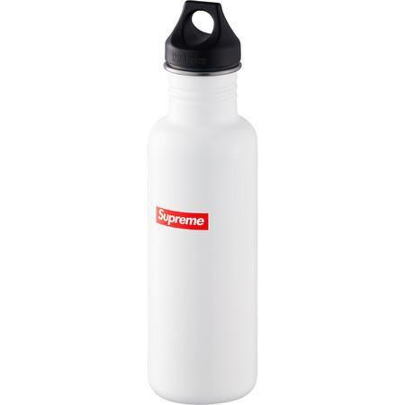 "SUPREME x KLEAN KANTEEN - Garrafa Box Logo ""Branco"" -NOVO-"