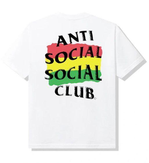 "ANTI SOCIAL SOCIAL CLUB - Camiseta Boblsed ""Branco"" -NOVO-"