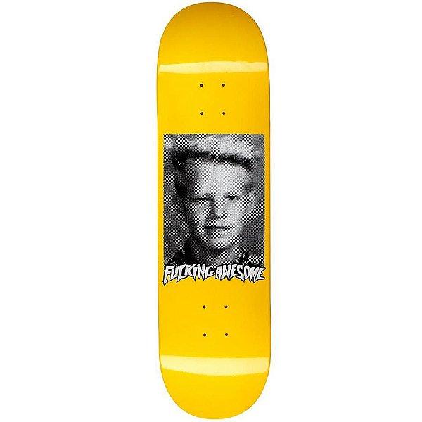 "FUCKING AWESOME - Shape de Skate ""Anthony Van Engelen Class Photo Amarelo"" -NOVO-"