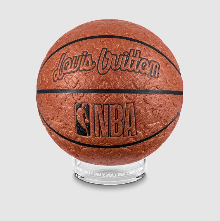 """LOUIS VUITTON x NBA - Bola de Basquete """"Marrom"""" -NOVO-"""