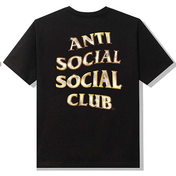 "ANTI SOCIAL SOCIAL CLUB - Camiseta Goldy ""Preto"" -NOVO-"