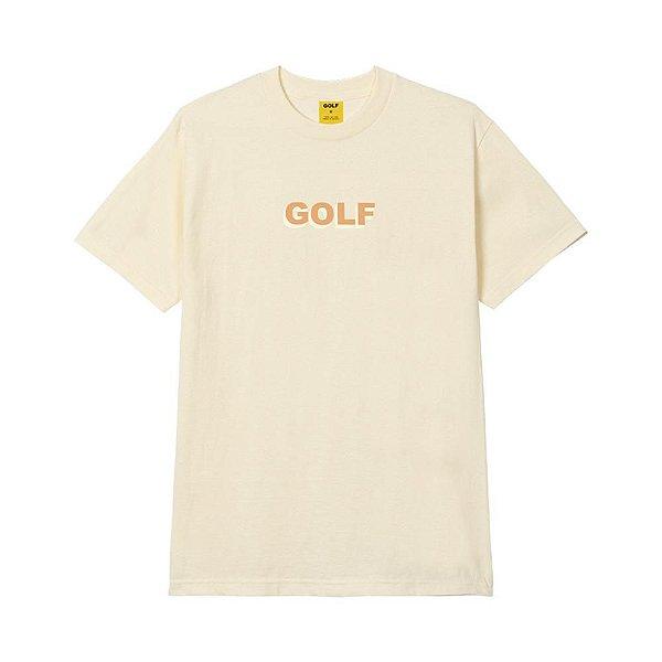 "GOLF WANG - Camiseta 3D Logo ""Creme"" -NOVO-"