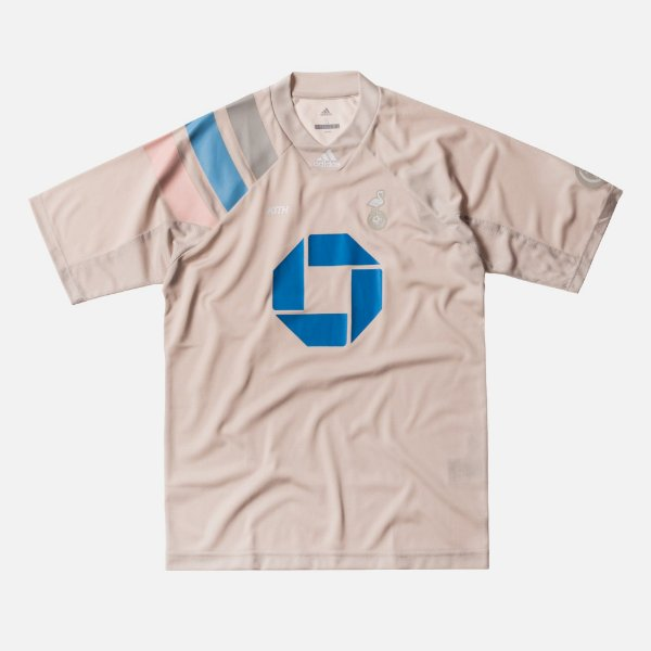 "KITH x adidas - Camiseta Soccer Jersey Flamingos ""Home"""
