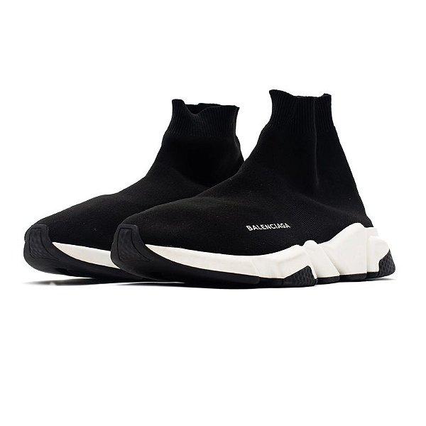 "BALENCIAGA - Speed Trainer ""Black/White"" -USADO-"