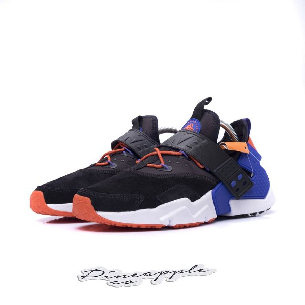 "NIKE - Air Huarache Drift ""Black Rush Violet"" -NOVO-"