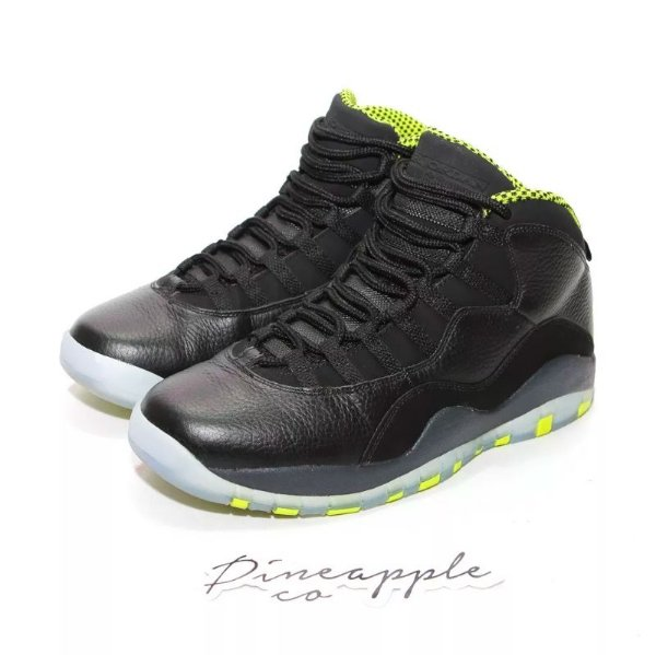 "NIKE - Air Jordan 10 Retro ""Venom Green"" -USADO-"