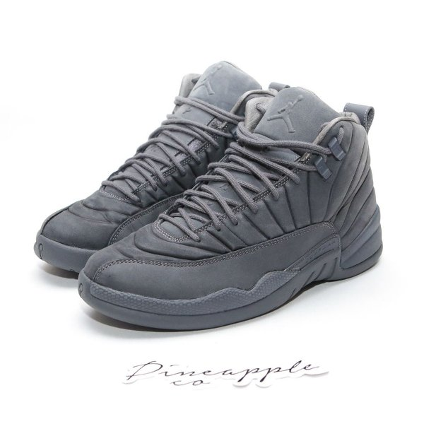 "NIKE x PSNY - Air Jordan 12 Retro ""Grey"" -USADO-"
