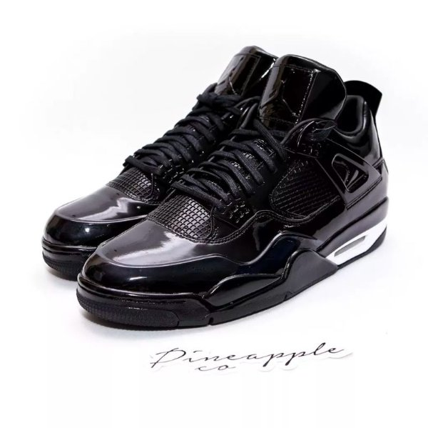 "NIKE - Air Jordan 4 Retro 11Lab4 ""Black"" -USADO-"