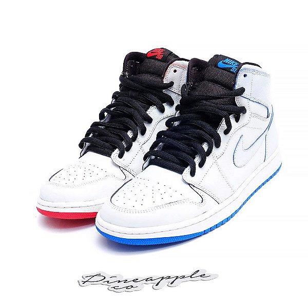 "NIKE x LANCE MOUNTAIN - SB Air Jordan 1 ""White"" -NOVO-"