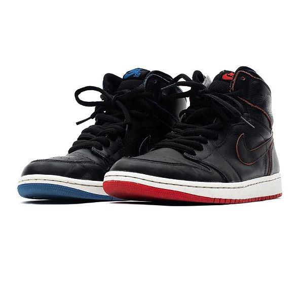 """!NIKE x LANCE MOUNTAIN - SB Air Jordan 1 """"Black"""" -USADO-"""