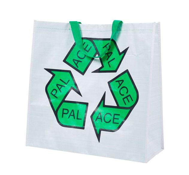 """!PALACE - Sacola Bag For Life  """"Branco"""" -NOVO-"""