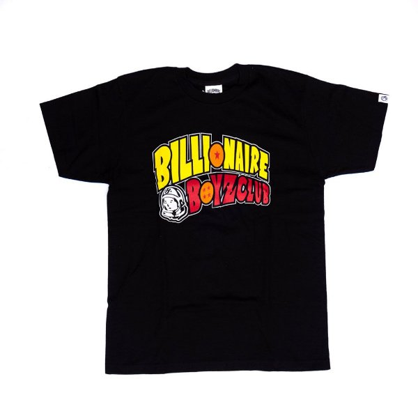 "BILLIONAIRE BOYS CLUB x DRAGON BALL - Camiseta Arch Logo ""Preto"" -NOVO-"