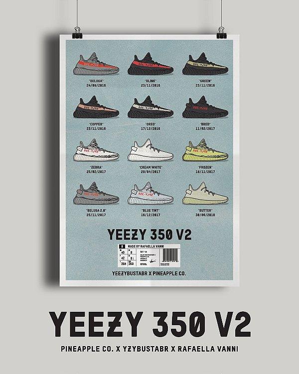 POSTER - Yeezy 350 V2 -NOVO-