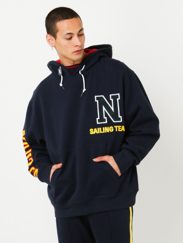 "NAUTICA X LIL YACHTY - Moletom Sailing ""Marinho"" -NOVO-"