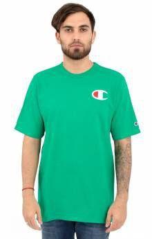 """CHAMPION - Camiseta Graphic C """"Verde"""" -NOVO-"""