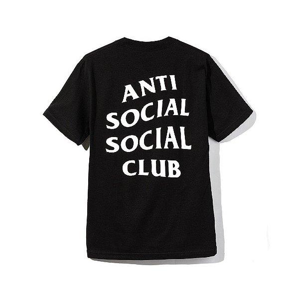 "ANTI SOCIAL SOCIAL CLUB - Camiseta Logo 2 ""Preto"" -NOVO-"