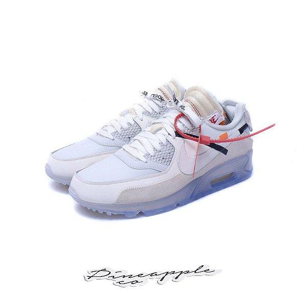 """Nike Air Max 90 x OFF-WHITE """"White"""" -NOVO-"""