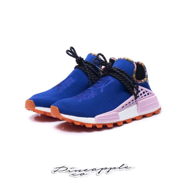 "ADIDAS x PHARRELL - NMD Hu Inspiration Pack ""Powder Blue"" -NOVO-"