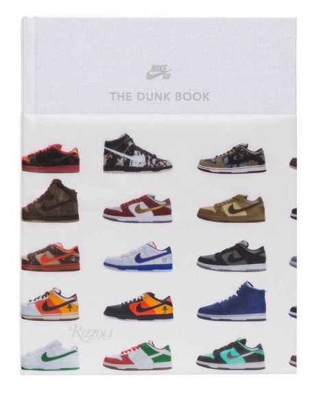 !RIZZOLI NEW YORK - Livro Nike SB The Dunk Book -NOVO-