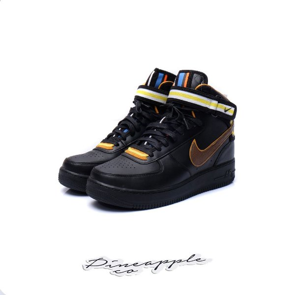 "NIKE x RICCARDO TISCI - Air Force 1 Mid ""Black"" -NOVO-"