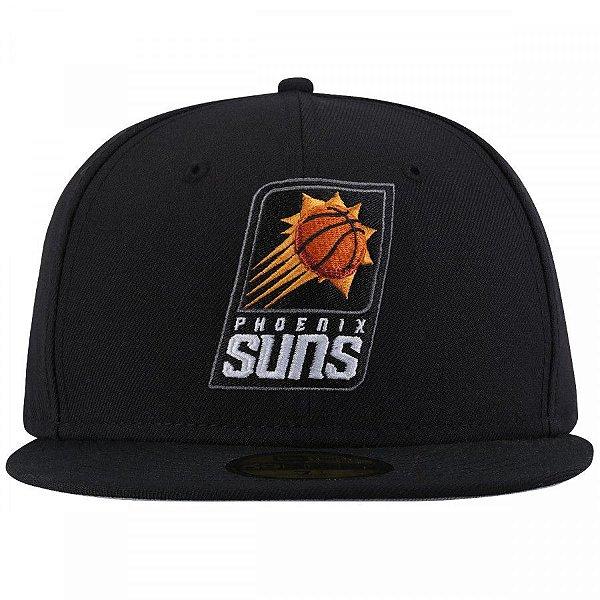 """NEW ERA - Boné Phoenix Suns """"Preto"""" -USADO-"""