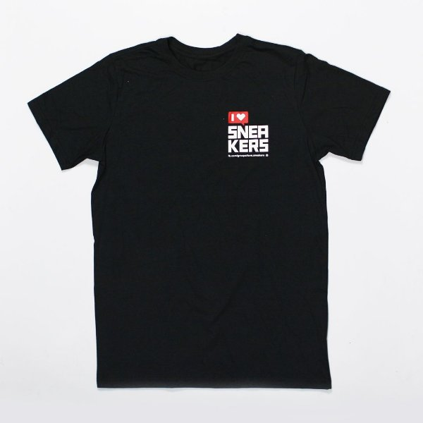 "PINEAPPLE CO - Camiseta I Love Sneakers ""Preto"" -NOVO-"
