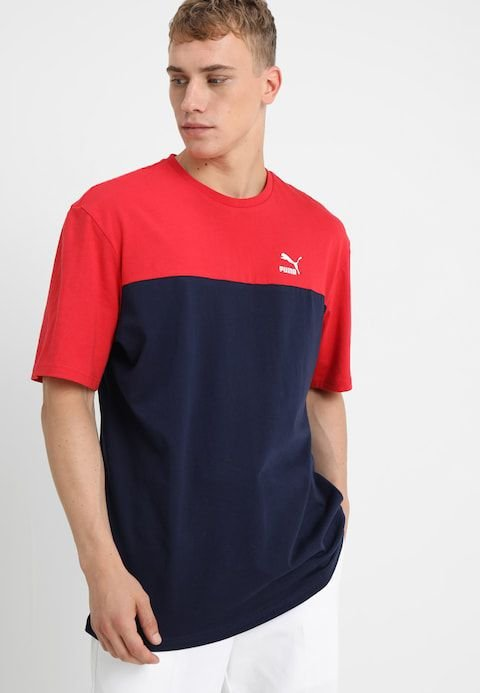 "PUMA - Camiseta Retro ""Blue/Red"""