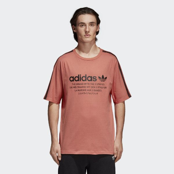 "adidas - Camiseta NMD ""Red"""