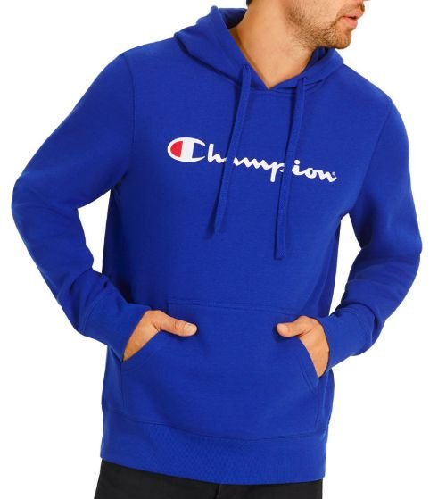 "CHAMPION - Moletom Script Logo ""Azul"" -NOVO-"