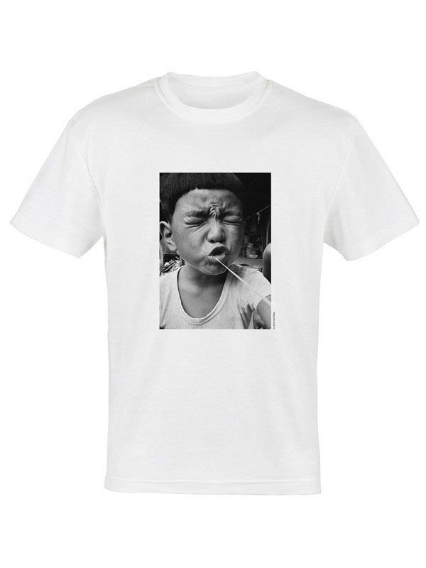 "VIRGIL ABLOH - Camiseta Nobuyoshi Araki ""Branco"" -NOVO-"