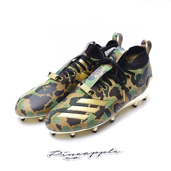 "ADIDAS x BAPE - Cleat ""Camo Green"" -NOVO-"