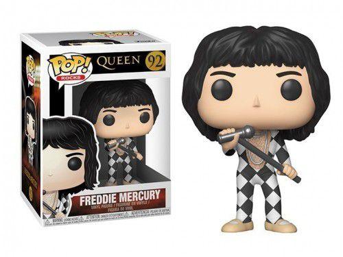 FUNKO POP! - Boneco Queen: Freddie Mercury #92 -NOVO-