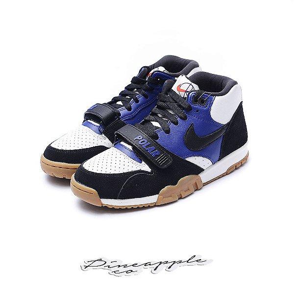 "Nike SB Air Trainer 1 x Polar Skate Co ""White/Royal"""