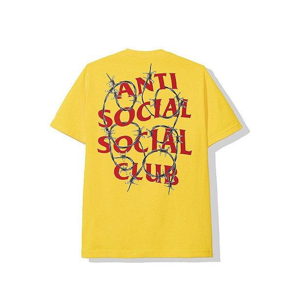 "ANTI SOCIAL SOCIAL CLUB - Camiseta Barbara ""Amarelo"" -NOVO-"