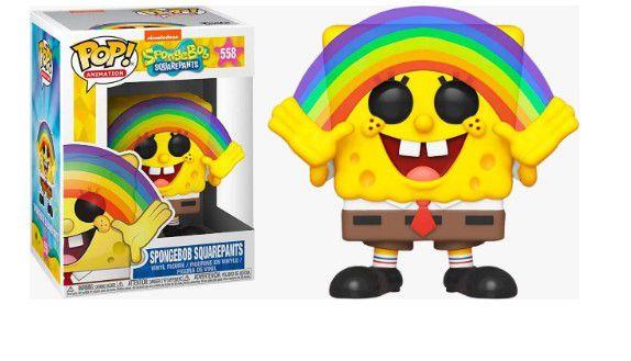 FUNKO POP! - Boneco Bob Esponja (Spongebob Squarepants) #558 -NOVO-
